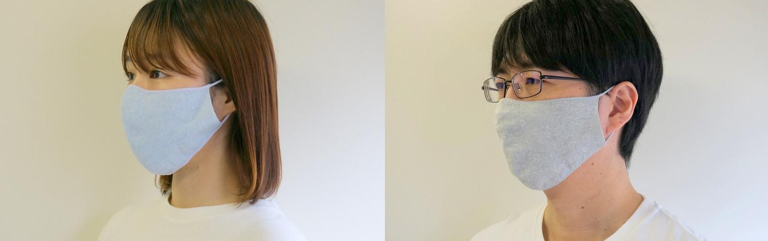 マスク涼しい夏の麻