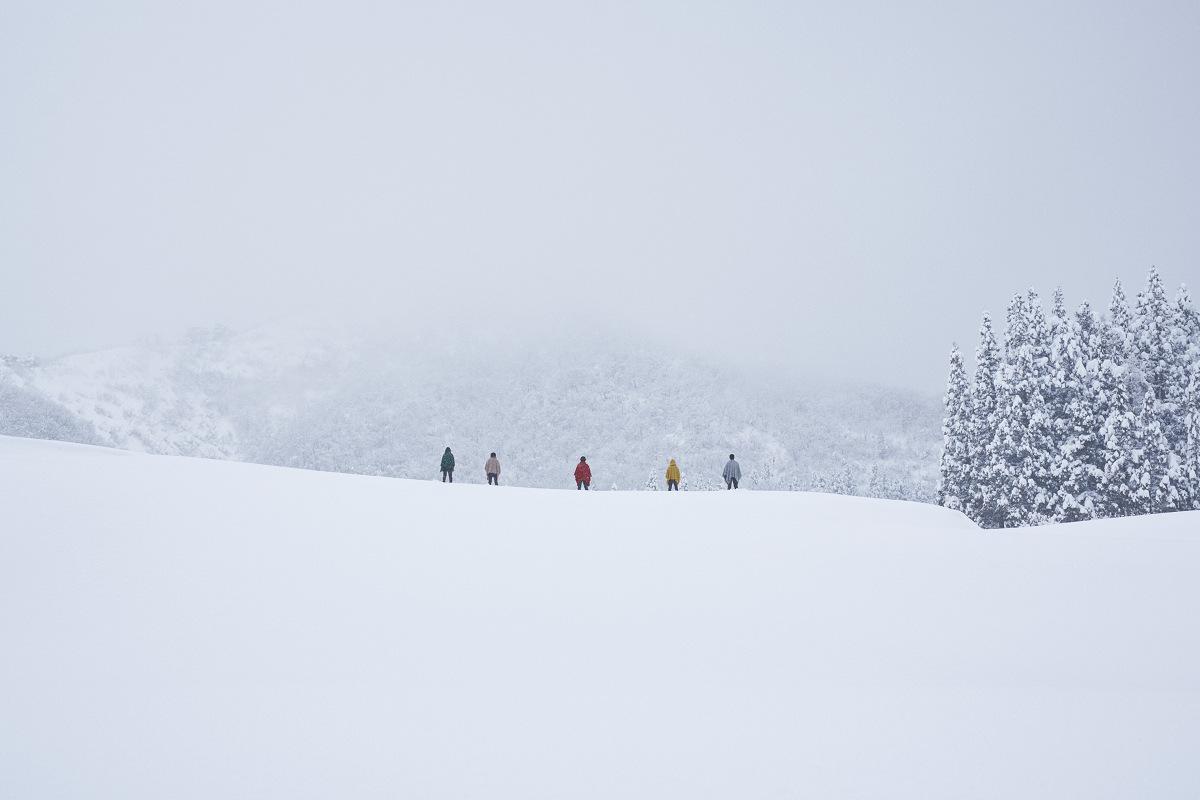 mino雪景色